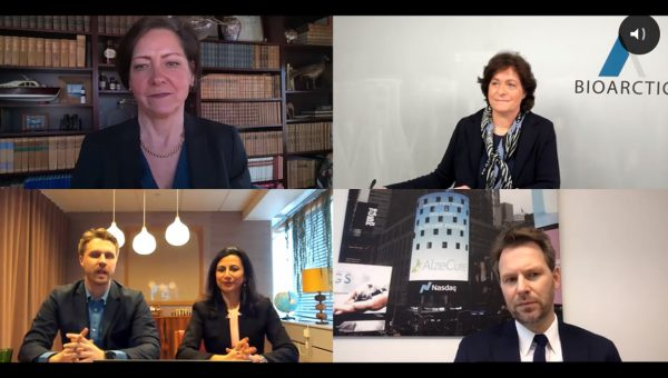 Image for Webcast with CEOs of Swedish Alzheimer's companies